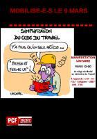 MOBILISE-E-S LE 9 MARS contre la « Loi Travail - El Khomri »
