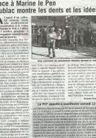 DU RIFIFI EXTRÊME DROITE À CUBLAC