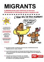 Migrants - La Méditerranée doit redevenir le berceau d'humanité et d'échange qu'elle a toujours été