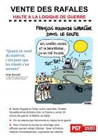 VENTE DES RAFALES : HALTE A LA LOGIQUE DE GUERRE