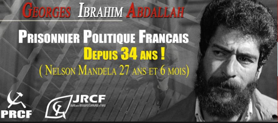 LA FRANCE EST UN ETAT DE DROIT > Liberté pour Georges Ibrahim Abdallah
