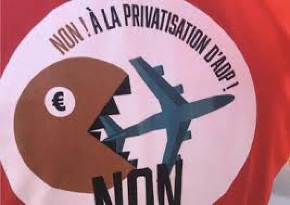 AÉROPORTS DE PARIS Première soirée de lancement de la campagne de recueil de signatures le 19 juin prochain
