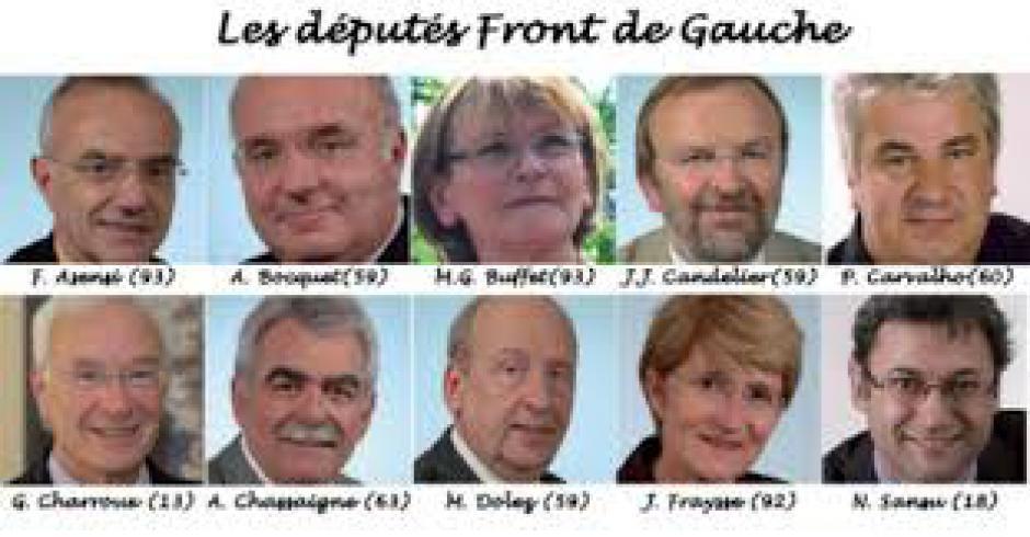 IL Y A BESOIN DE BEAUCOUP DE DÉPUTÉS COMMUNISTES
