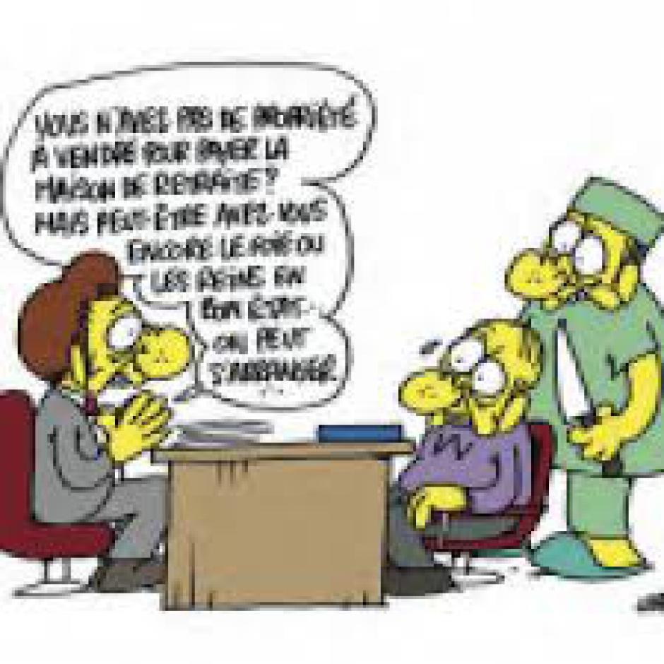 TRIBUNE DU MONDE : Les EHPAD