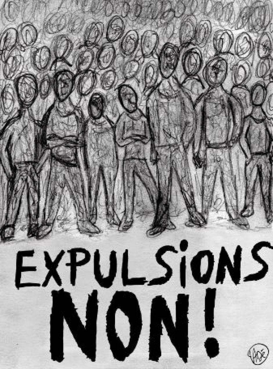 NON AUX EXPULSIONS ! OUI À L'ACCUEIL !