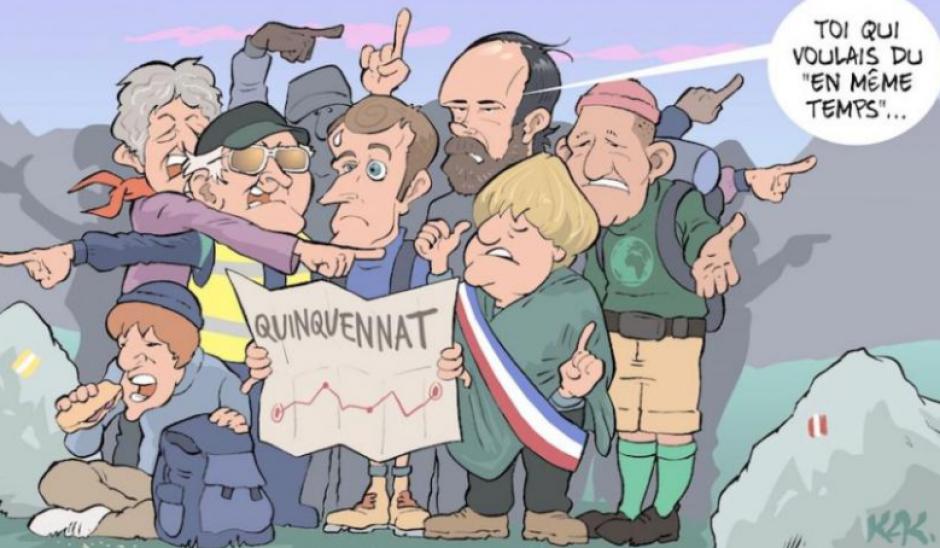 BOULEVERSER LE GRAND DÉBAT NATIONAL et FAIRE ÉCHEC À E. MACRON