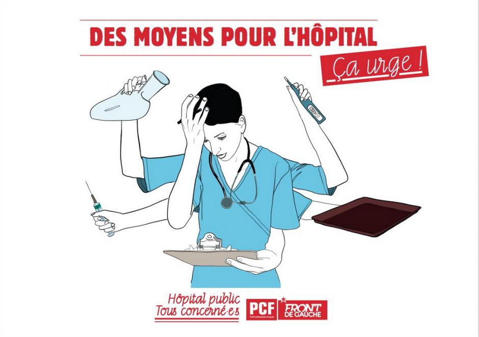 PLAN SANTÉ : Les Hôpitaux en « État d'urgence »