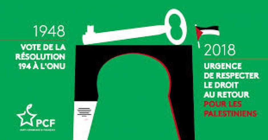 PALESTINE : 71 ans de déni du droit international