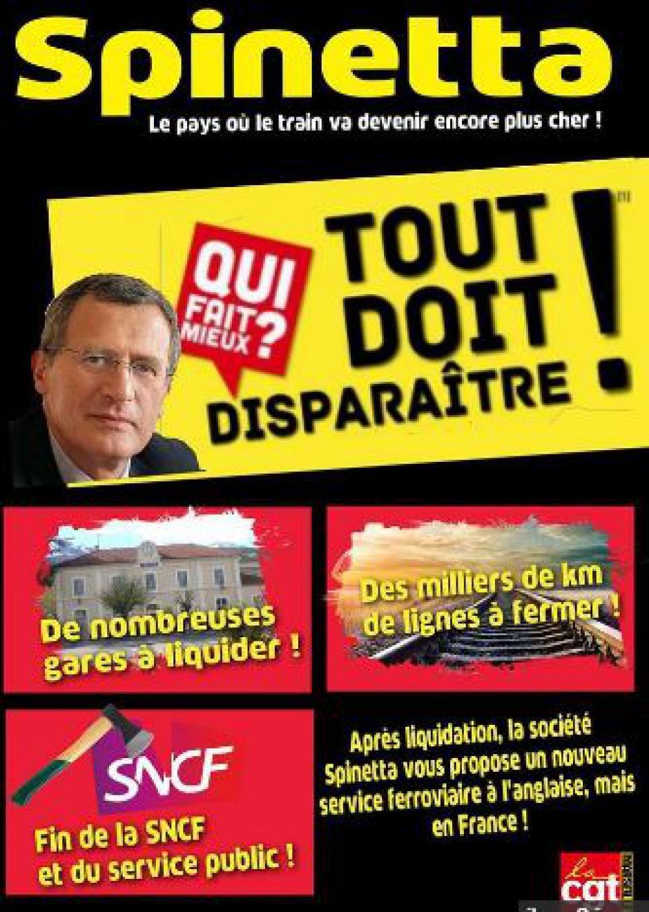 GANG > Spinetta, auteur remarqué d'un récent rapport de casse de la SNCF