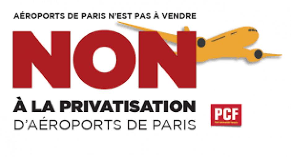 PRIVATISATION D'AÉROPORTS DE PARIS