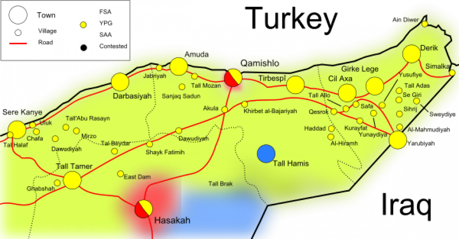 SYRIE > Le PCF condamne la nouvelle agression turque au Rojava