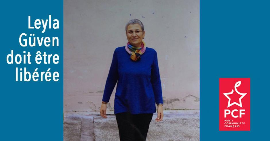 TURQUIE : Appel à la mobilisation pour Leyla Güven et à la sortie de l'isolement d'Ocalan