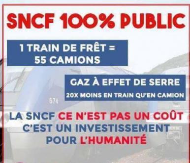 DETTE DE LA SNCF : Les propositions communistes